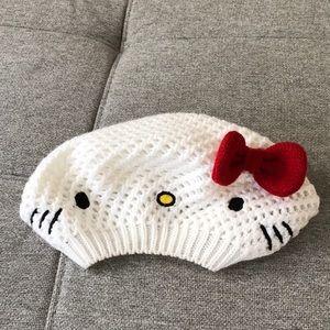 Hello Kitty Beret Style Hat